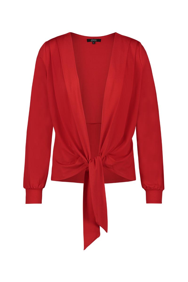 Luxe basis top/vest. Aan 2 kanten te dragen. Als top met open rug of als vest.